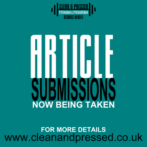 Submit an Article to Clean and Pressed