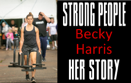 Beck Harris Strong People Story - Clean and Pressed