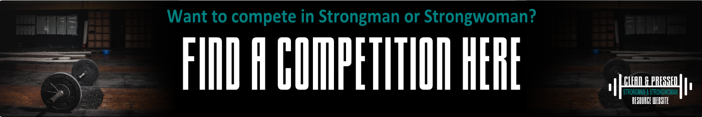 Find a Strongman/Strongwoman competition banner
