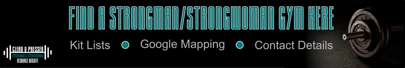Find Strongman/Strongwoman Gym Banner