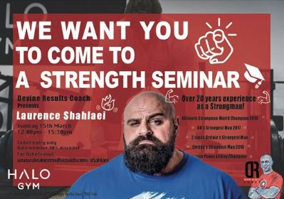 Laurence Shahlaei - Strongman Seminar - Clean and Pressed