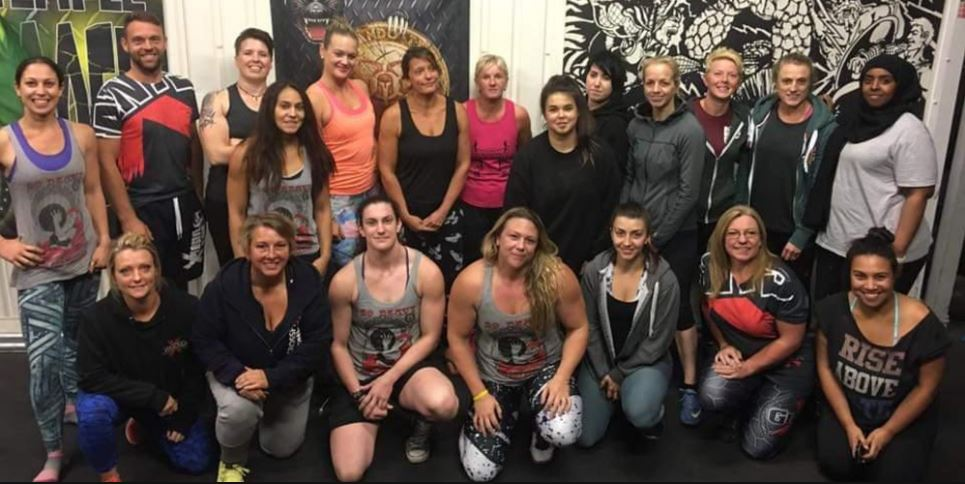 Donna Moore and Jenny Todd Strongman/Strongwoman Workshop