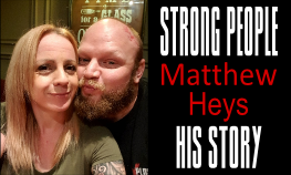 Matthew Heys Strongman Story Clean and Pressed