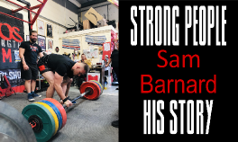 Sam Barnard Strong People Story - Clean and Pressed