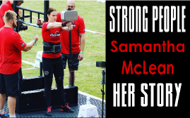 Samantha McLean Strong People Story - Clean and Pressed