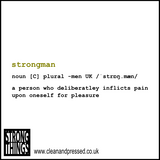 Strongman Dictionary Definition Birthday Card