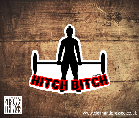Hitch Bitch Vinyl Sticker