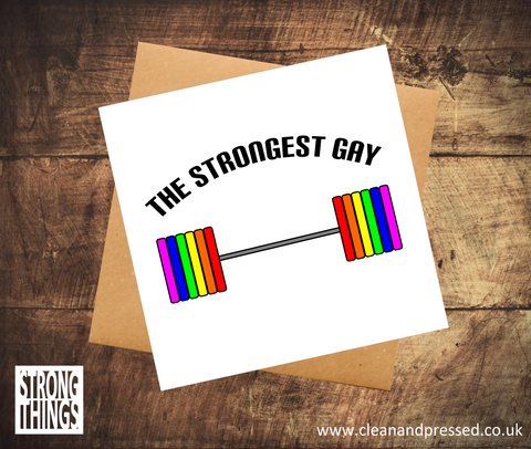 The Strongest Gay Birthday Card