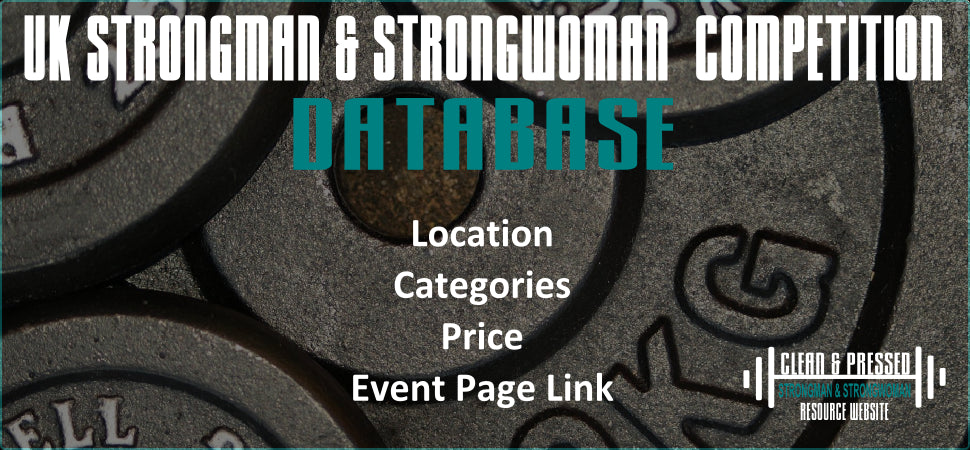 Strongman/Strongwoman Group Training Sessions