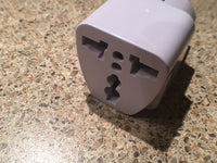 Universal Plug Adapter - Asia/Europe Grounded