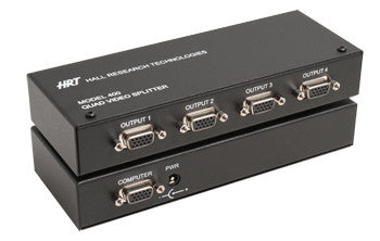 400 4 Port VGA Video Splitter