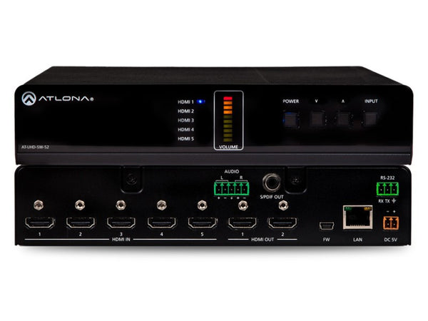 Atlona AT-UHD-SW-52 HDMI Switcher