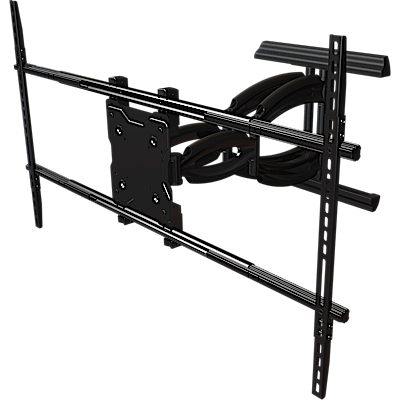 "Articulating mount for 50"" to 65""+ flat panel screens"