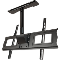 "Complete ceiling installation kit with 18"" fixed drop for 37"" to 63""+ screens"