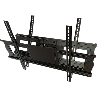 "Ceiling mount box and universal screen adapter assembly for 37"" to 63""+ dual back to back screens"