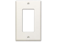 CP-1 Single Cover Plate - white