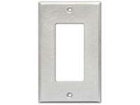 CP-1S Single Cover Plate - stainless steel