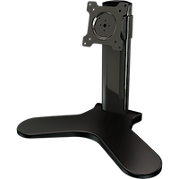 Single monitor desktop stand