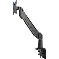 Single link arm with vertical pipe adapter