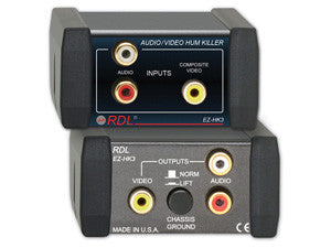EZ-HK3 Audio/Video Hum Killer