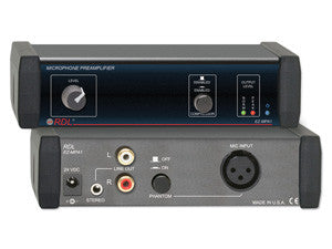 EZ-MPA1 Microphone Preamplifier - Stereo Output with Compressors