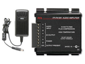 FP-PA18H 18 W Mono Hi-Temp  Audio Amplifier - 8 Ω, with Power Supply