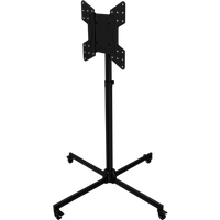 "Collapsible floor stand with protective case for 32"" to 55""+ Screens"