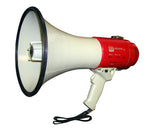 25 WATT PIEZO DYNAMIC POWER MEGAPHONE W/ PISTOL GRIP