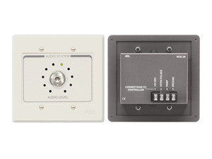 RCX-3RN Room Control for RCX-5C Room Combiner - Ultrastyle neutral