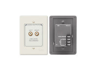 RCX-A2N Dual RCA Output Wall Plate Assembly - Terminal block - Ultrastyle neutral