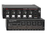 RU-MX5ML 5 Channel Mic/Line Audio Mixer with Phantom Power