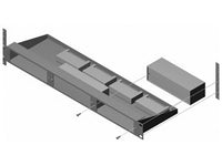 "RU-RA3A 19"" Rack Mount for 3 RACK-UP Series Products"