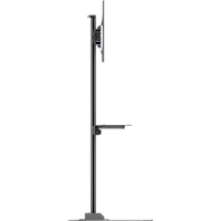 "Floor stand with metal shelf for 37"" to 63""+ screens"