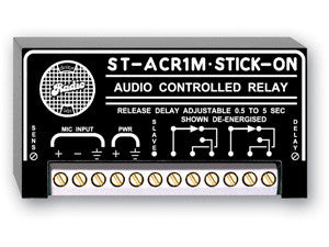 ST-ACR1M Microphone Level Audio Controlled Relay - 0.5 to 5 s delay