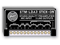 STM-LDA3 Studio Quality Microphone Preamplifier with phantom - 3 line outputs