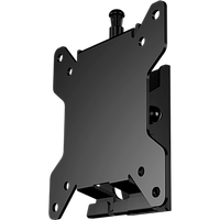 "Tilting mount for 10"" to 30"" flat panel screens (silver)"