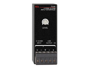 TX-8A 4 Ohm / 8 Ohm Input Interface
