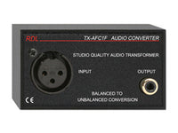 TX-AFC1F Balanced to Unbalanced Audio Transformer - XLR, RCA