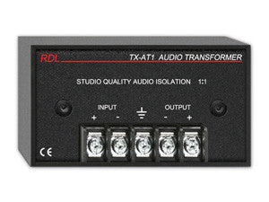 TX-AT1 Audio Isolation Transformer - 600 Ω 1:1