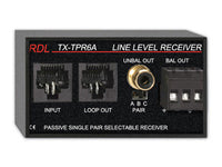 TX-TPR6A Passive Single-Pair Receiver - Twisted Pair Format-A - Balanced audio line output