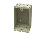 WB-1U Universal Wall Box - Single - Mounts RDL remote controls & wall plates
