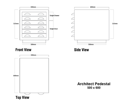 Architect Pedestal
