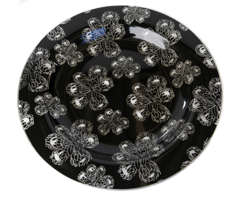 Protea Glass Platter