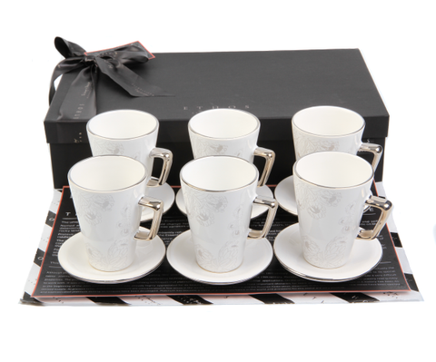 Protea Coffee Gift Set White