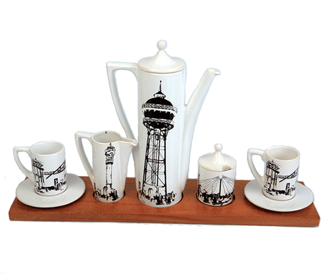 Symbols of the City Executive Coffee Set