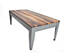 Ski Coffee Table with Slatted Top