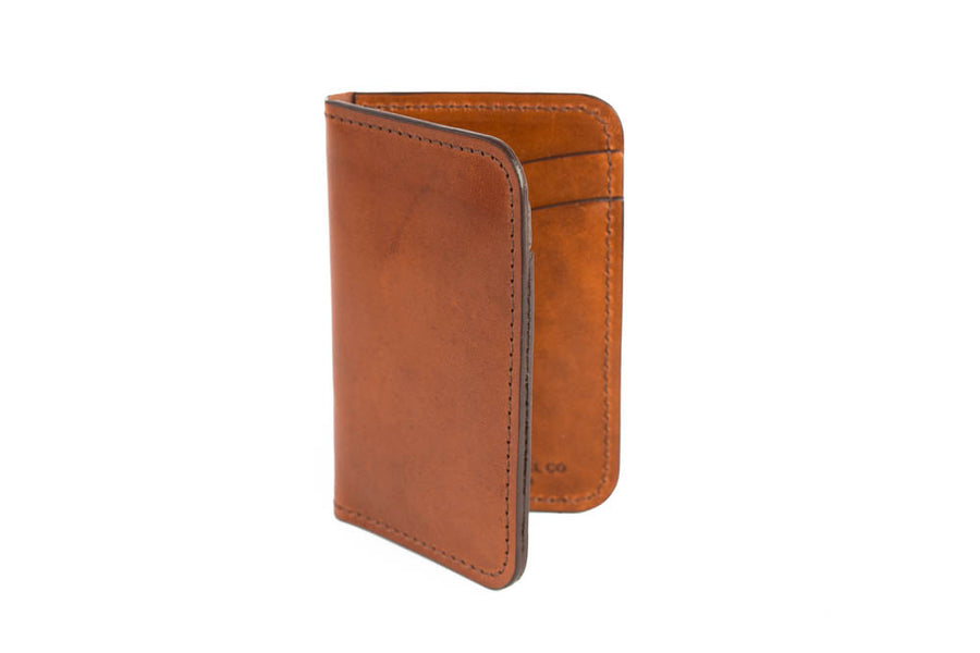 No.52 | 'Buck Brown' Vertical Leather Wallet