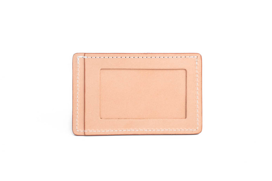 No.54 | 'Natural Oak' Minimalist Leather Wallet