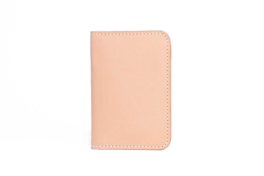 No.52 | 'Natural Oak' Vertical Leather Wallet