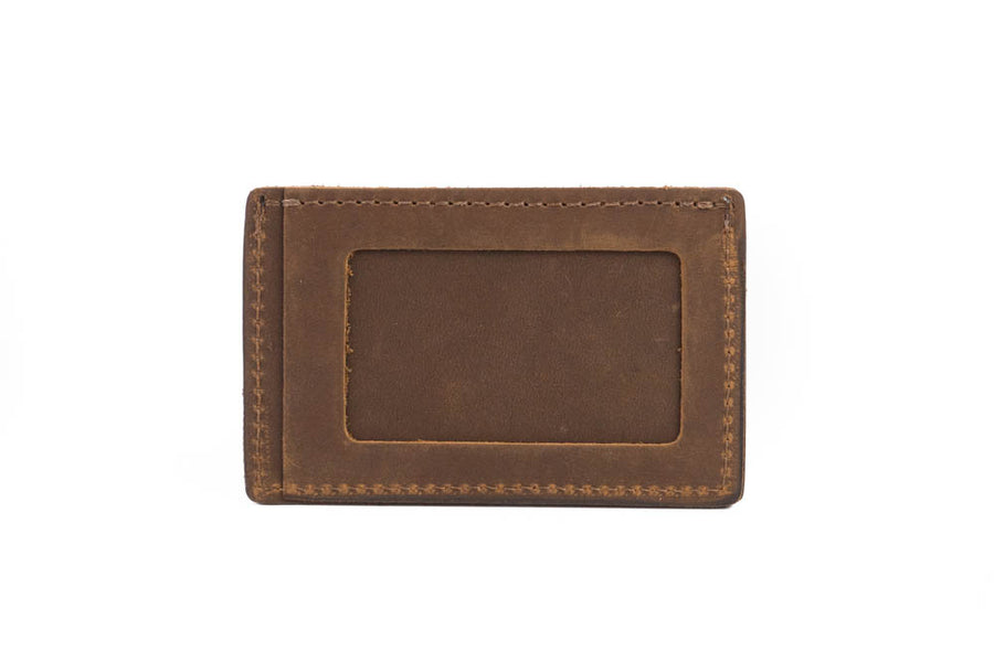 No.54 | 'Vintage Brown' Minimalist Leather Wallet